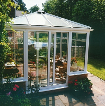 An example of a Georgian style conservatory