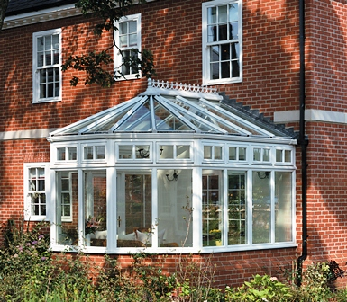 An example of a Victorian style conservatory